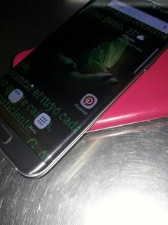 Celular Samsung S7 Edgge Impecable Cambio Por Otro Cel Y Din