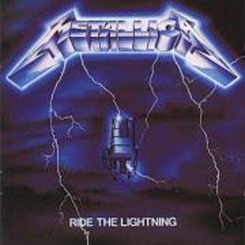 Cd : Metallica - Ride The Lightning (united Kingdom - Im...