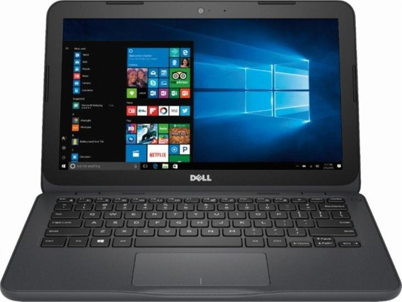 Netbook Dell 11 Polegadas 4gb/32gb Win10+cartao 32gb Brinde
