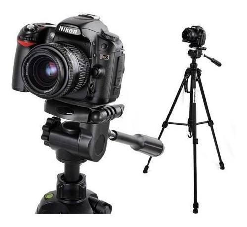 Tripé Universal Fotográfico Profissional Canon Nikon 1.80