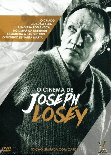 Imagem 1 de 2 de Dvd O Cinema De Joseph Losey - Versatil - Bonellihq L19