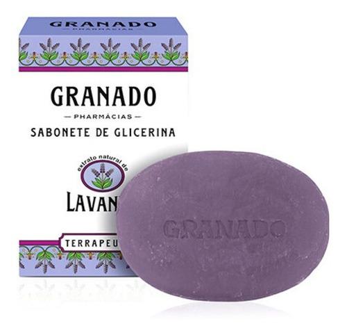 Sabonete 100% Vegetal Granado Lavanda 90g