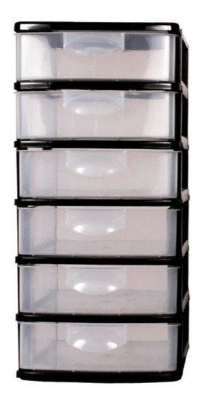 Caixa Organizador Plástico 6 Gavetas - Belfix