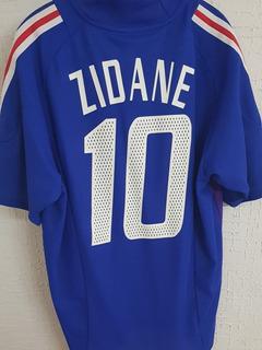 Jersey De Colección Francia Zinedine Zidane (original)