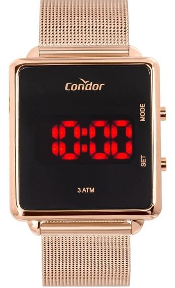 Relógio Condor Feminino Digital Rosé Cojhs31bab/4j