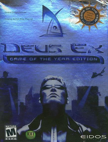 Deus Ex Goty Pc - Steam Key (envio Rápido)