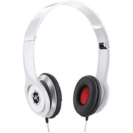 Fone De Ouvido Medio V-bass Branco
