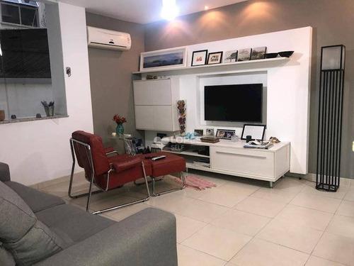 Apartamento Com 3 Dormitórios À Venda, 130 M² Por R$ 1.100.000,00 - Icaraí - Niterói/rj - Ap35979