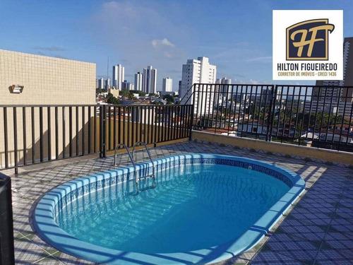 Imagem 1 de 27 de Apartamento Com 3 Dormitórios À Venda, 82 M² Por R$ 300.000,00 - Bairro Dos Estados - João Pessoa/pb - Ap6552