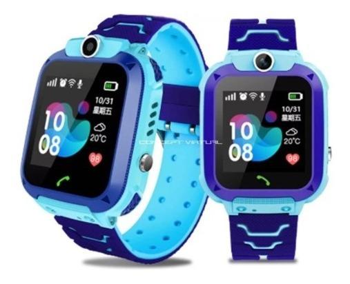 Relógio Pulseira Smartwatch Camera, Crianças Gps Ligação Sos