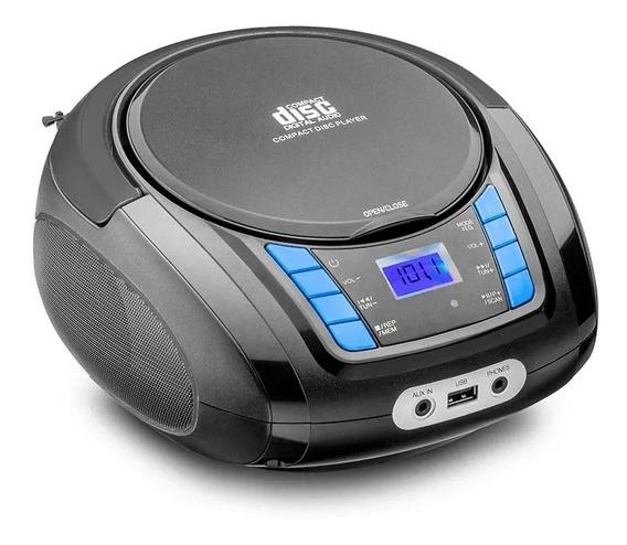 Rádio Boombox Bluetooth Toca Cd Multilaser Mp3 Player Usb Nf