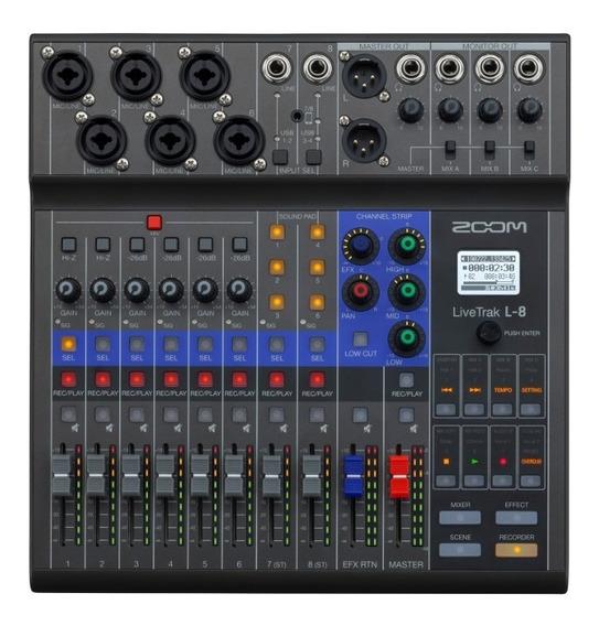 Zoom Mixer Livetrak L8