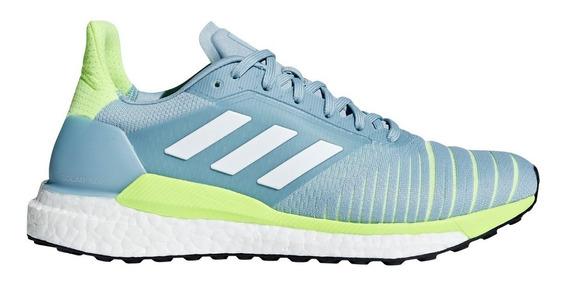 Zapatillas adidas Solar Glide Running Cel/ver De Mujer