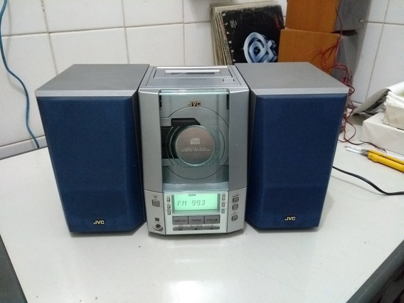 Mini System Jvc Ux-v10 Uxv10 Funcionando Tudo