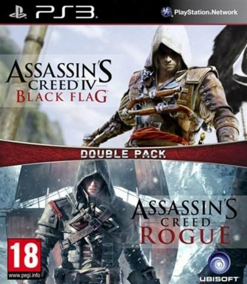 Assassins Creed Iv + Assassins Creed Rogue Psn Ps3