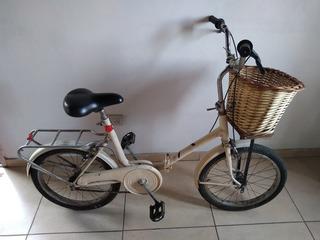 Bicicleta Antigua Rodado 20 Espectacular Lista Para Andar.