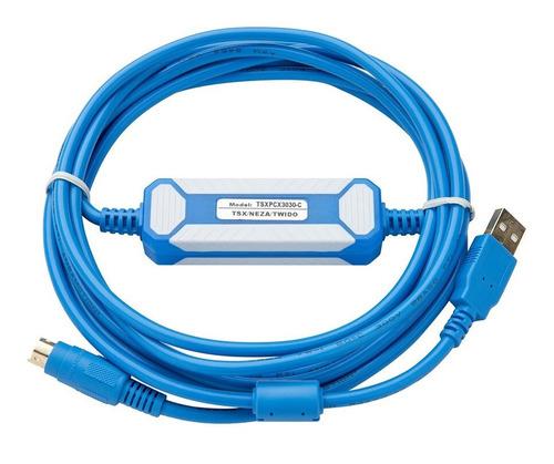 Cable Programación Plc Schneider Tsx Neza Twido Nano Usb