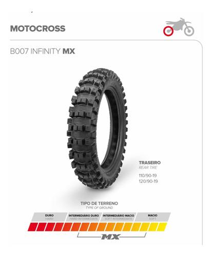 Cubierta Motocross 120-90-19 Mx Borilli No Dunlop