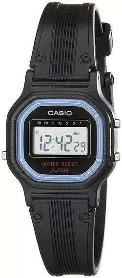 Relogio Casio La11wb-1 Retrô Vintage Alarm Crono Wr C Caixa