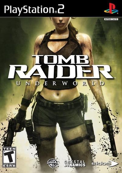 Jogo Tomb Raider: Underword Ps2