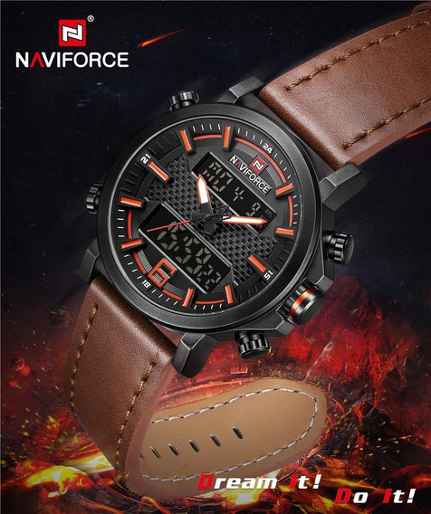 Relógio Masculino Naviforce Nf9135, Original, Pronta Entrega