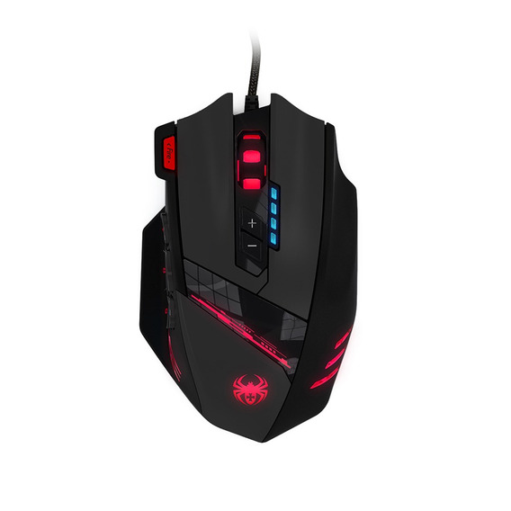 Zelotes C -12 Usb Wired Ótico Gaming Mouse 12 Programável