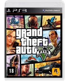 Grand Theft Auto V - Gta 5 - Ps3 - Midia Física Novo Lacrado