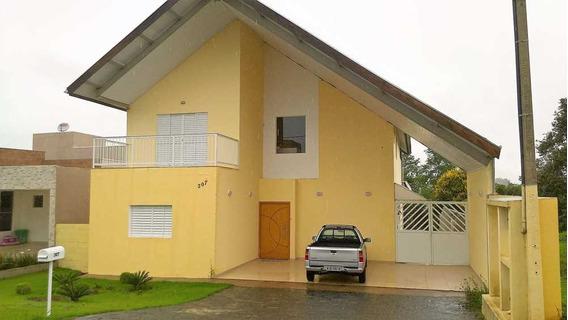 Capitalville - Casa 3 Dm, Ensolarada Com Vista 30 Min De Sp