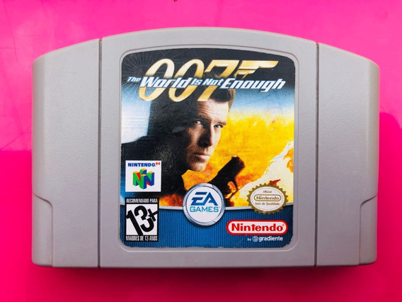 Jogos/games 007 The World Is Not Enough - Nintendo 64