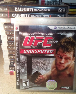 Ufc Undisputed 2009 Ps3 Excelente