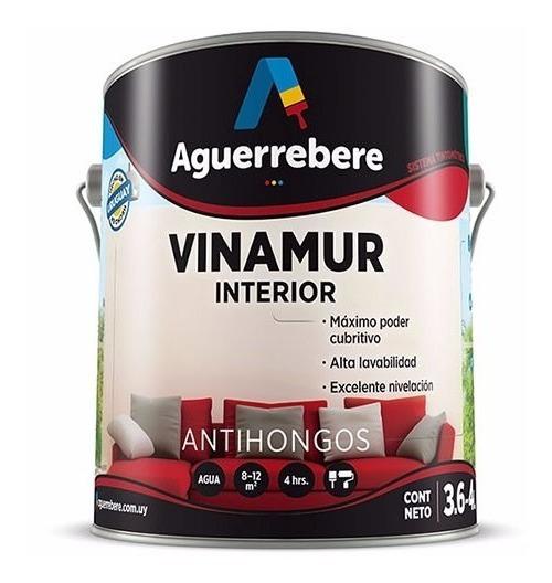 Pintura Interior Antihongos 4 L Vinamur Aguerrebere