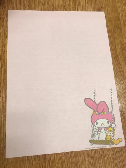 Papel De Carta Sanrio My Melody Coleccionable
