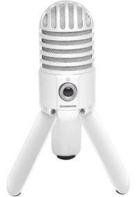 Microfone Samson Meteor Mic Usb (cromado )