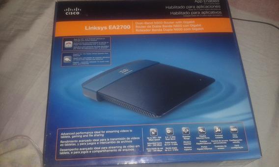 Router Linksys Cisco Ea2700 Doble Banda 4 Antenas Internas