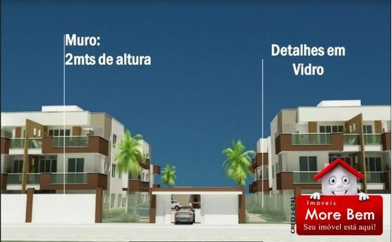 Apartamento 2 Quartos (1 Suíte) Palmeiras - Cabo Frio/rj - Ap2-209