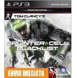 Splinter Cell Blacklist + Batman Arkham Asylum Ps3 -cod Psn.