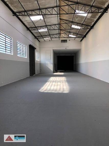 Galpão Para Alugar, 580 M² Por R$ 15.000/mês - Vila Carrão - São Paulo/sp - Ga0298
