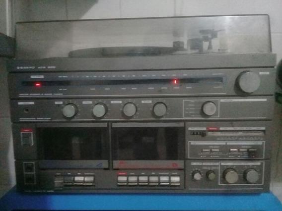 Rádio Antigo Vitrola E Tap Sanyo At 200 Leia O Anúncio