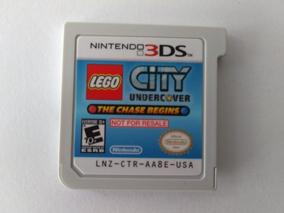 N3ds Lego City The Chase Begins Nfr Usa
