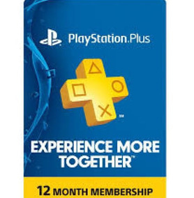 Playstation Plus 12 Month Subscription Gift Card Usd America