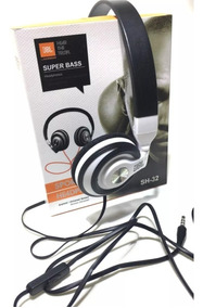 Fone De Ouvido Jbl Original Super Bass Pc, Celular Tablet