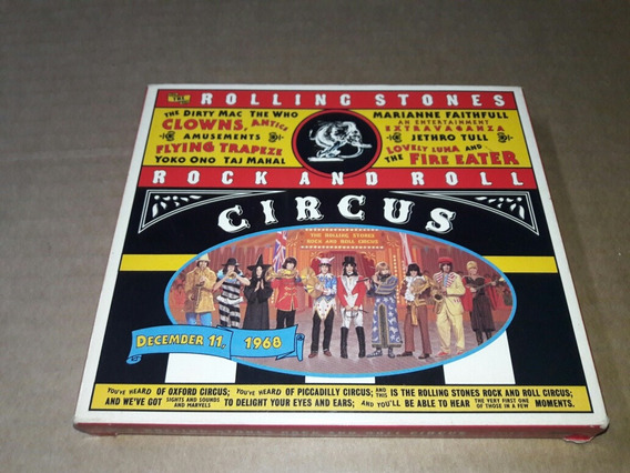 The Rolling Stones - Rock And Roll Circus (cd) (usa)