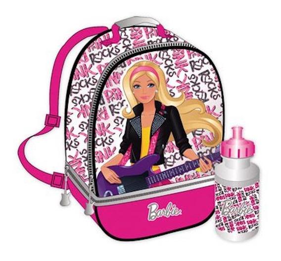 Lonchera Térmica Doble Barbie Pink Original Importada Capi