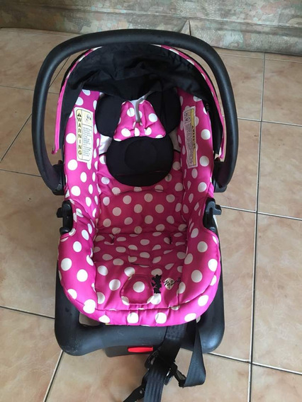 Portabebe Y Asiento De Carro Minnie Mouse Cosco