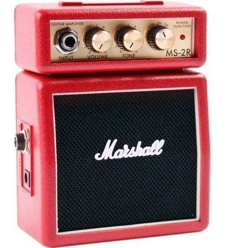 Mini Amplificador Marshall Ms-2r Red Micro Amp
