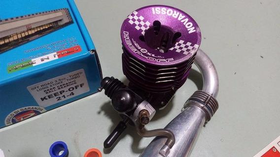 Motor Novarossi Keep Off 7 Janelas Com Curva E Pipa