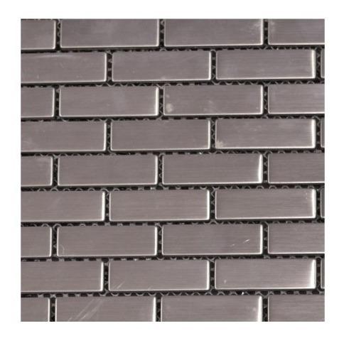 Mosaico Malla Metalizada