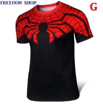 Camisa Heróis Homem Aranha Manga Curta Pronta Entrega
