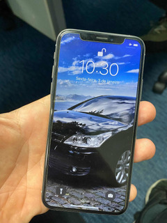 Apple iPhone Xs 64gb Silver (fundo Branco)
