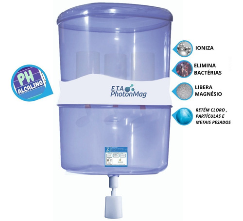 Filtro Ionizador  - Água Alcalina